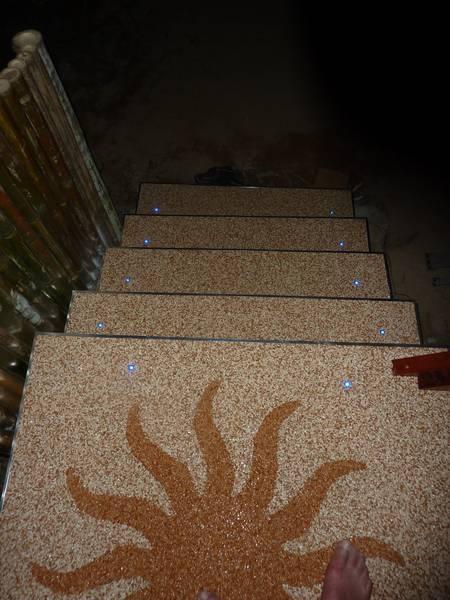 Steindesign Spiegl privat kieselbeschichtung steinteppich